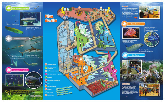 Plan d'acess - Aquarium de Lyon