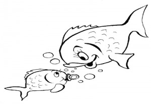 Mother baby – Aquarium Lyon