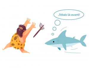 Une dent contre les requins
